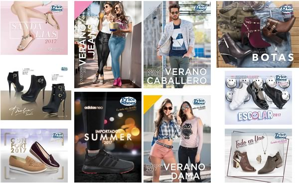 1b4129aded Los catálogos virtuales Price Shoes 2017 colección primavera-verano te  ofrecen la moda más deseada y la más vendida. En esta colección de catálogos  del 2017 ...