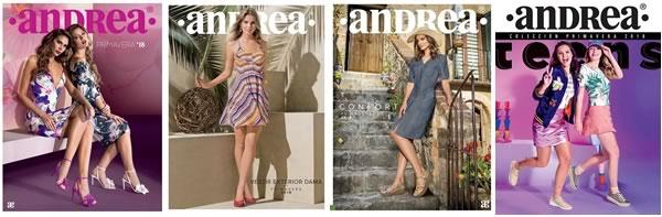 35af9e430a Catálogos ANDREA Colección Primavera 2018