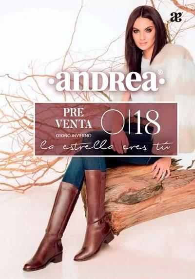 dcc5d965 Catálogos Andrea Otoño Invierno 2018: OFERTAS DE PREVENTA