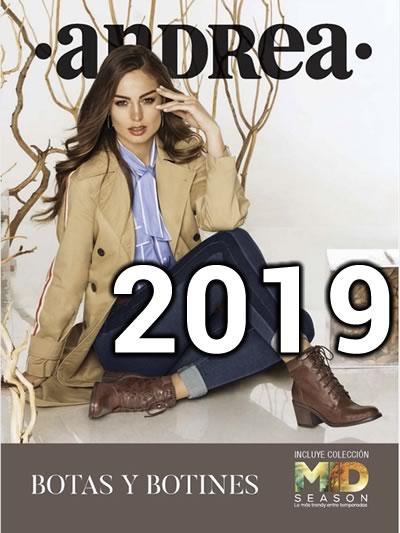16fff286 Catálogo Andrea Botas y Botines Colección 2019