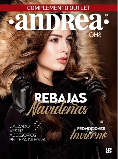 69346a44 ANDREA: Catálogo REBAJAS Navideñas 2018 Outlet y Promociones