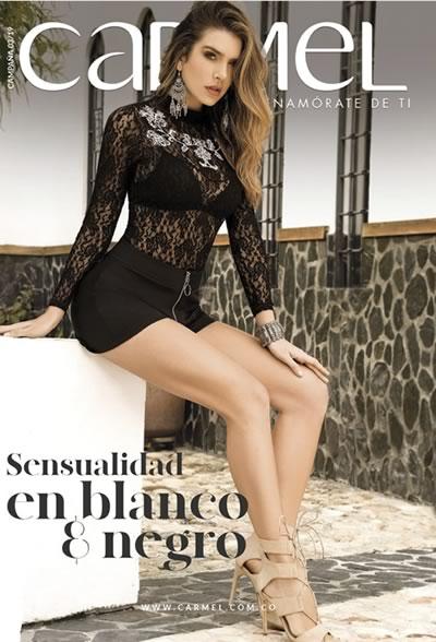 f7792b8978 Catálogo Carmel Campaña 3 de 2019 - Sensualidad en Blanco y Negro (2da  Edición) de Colombia