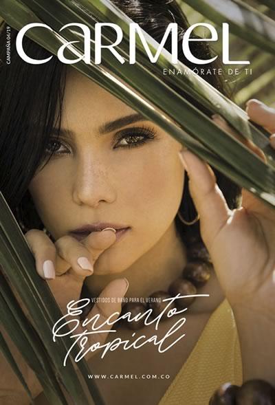 e1ae0052fb Catálogo Carmel Campaña 4 de 2019 - Encanto Tropical