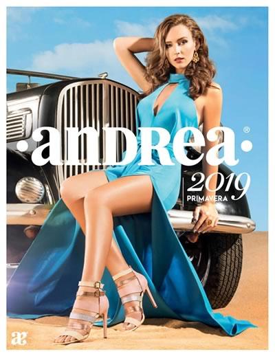 ac9e3b710 Catálogo Andrea Primavera 2019 Calzado Dama