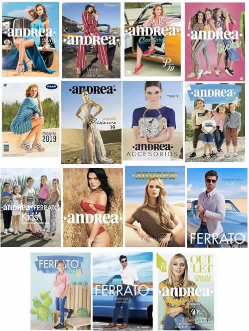 baac735724d (NUEVOS) Catálogos Andrea 2019 Primavera Verano de México y USA