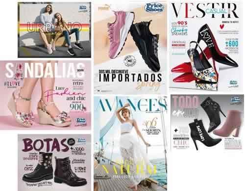 Nuevo Catálogos Price Shoes Primavera Verano 2019
