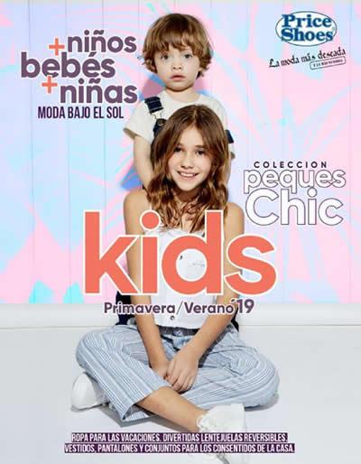 Catálogo Price Shoes Kids Primavera Verano 2019 México