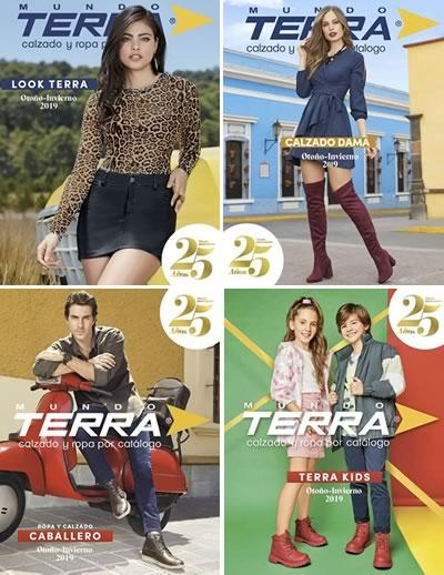 3c5ea456f4b2 NUEVOS Catálogos Mundo Terra Otoño Invierno 2019 | México