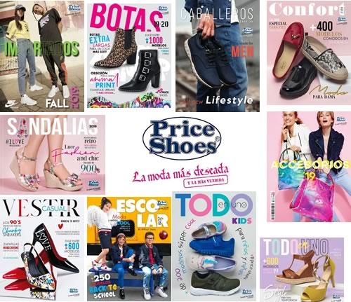 Nuevos Catálogos Virtuales Price Shoes 2019 2020 Botas
