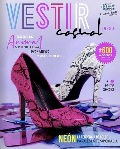 Catálogo Price Shoes Vestir Casual 2019 2020
