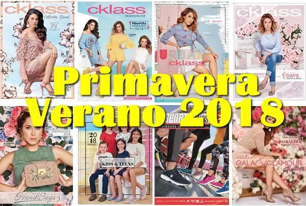 (NUEVOS) CKLASS Catálogos Primavera Verano 2018 - México y USA