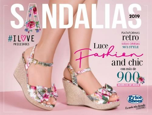 Catálogo Price Shoes Sandalias 2019