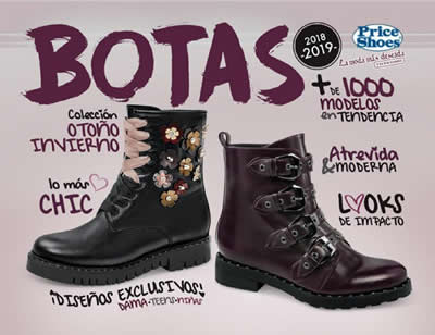 Catálogo Price Shoes BOTAS 2018-2019