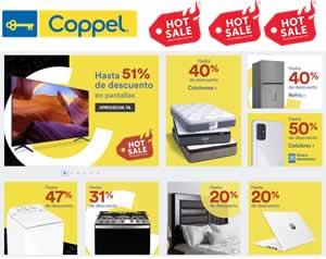 CATÁLOGO VIRTUAL COPPEL - OFERTAS HOT SALE 27 MAYO 2020