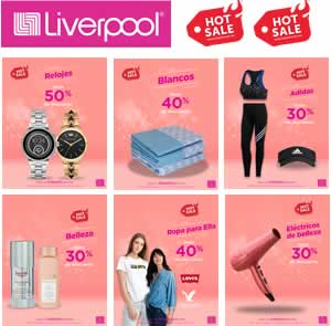 CATÁLOGO VIRTUAL LIVERPOOL - 31 MAYO 2020 OFERTAS HOT SALE