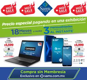 CATÁLOGO VIRTUAL SAMS CLUB - 1 JUNIO 2020 HOT SALE | MÉXICO