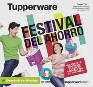 Catálogo Virtual TUPPERWARE TUPPER TIPS 11 de 2020 | MÉXICO