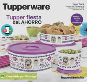 Catálogo Virtual TUPPERWARE TUPPER TIPS 12 de 2020 | MÉXICO