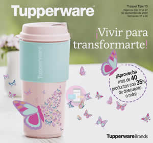 Catálogo Virtual TUPPERWARE TUPPER TIPS 13 de 2020 | MÉXICO