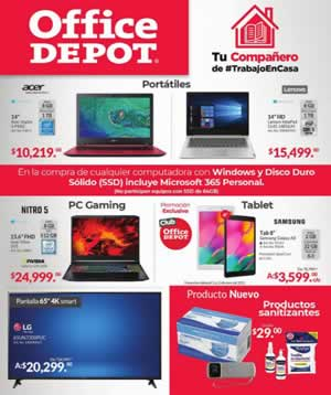 CATÁLOGO VIRTUAL OFFICE DEPOT 21 ENERO 2021 OFERTAS