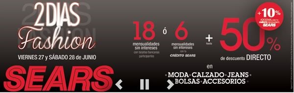2 dias fashion sears mexico 27 28 junio 2014