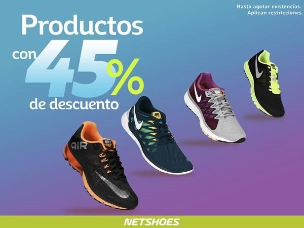 45 por ciento de descuento netshoes enero 2015