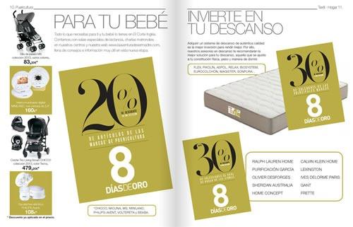 8 dias de oro el corte ingles noviembre 2013 espana 2
