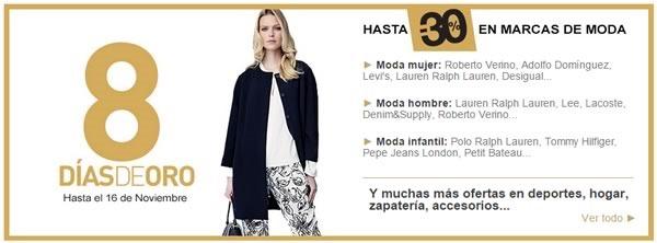 8 dias de oro moda hasta 16 noviembre 2014