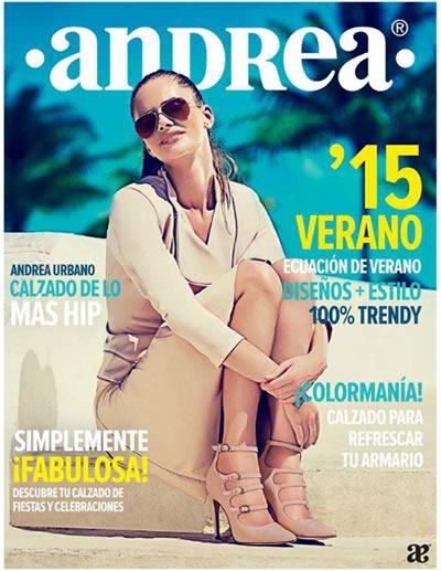 Catálogo Andrea Verano 2015 calzado cerrado