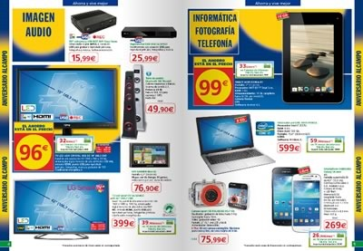 alcampo supermercado catalogo aniverario segunda ola mayo 2014 - 01