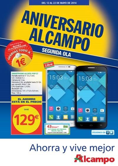 alcampo supermercado catalogo aniverario segunda ola mayo 2014