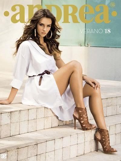 Catálogo Andrea Calzado Dama Verano 2018 de México y USA f985a7a30a319