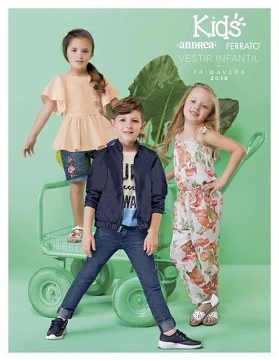 andrea ferrato vestir infantil primavera 2018