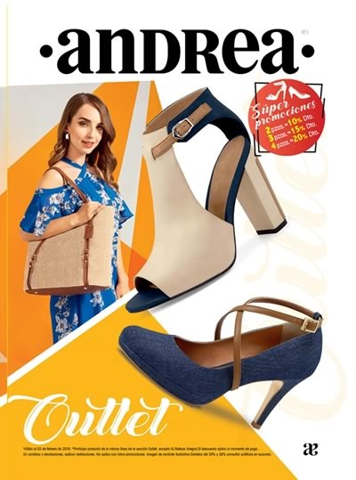 andrea outlet enero 2018