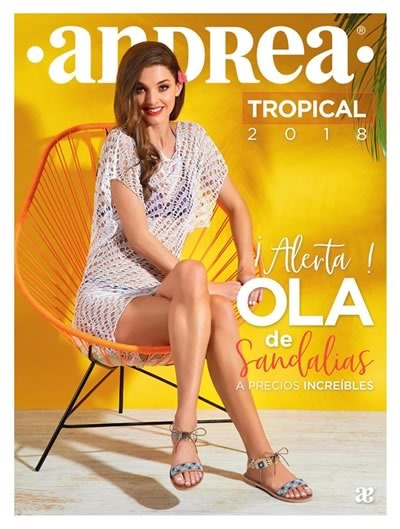 andrea sandalias 2018 tropical