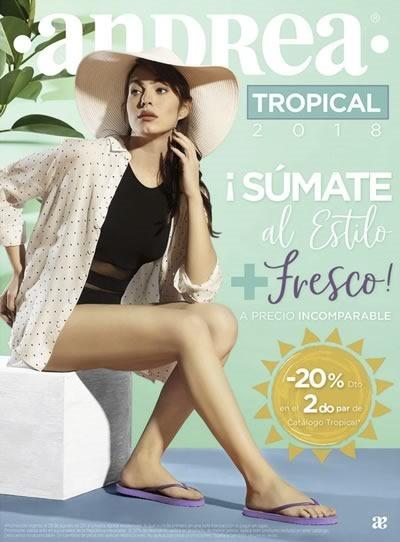 andrea sandalias tropical 2018
