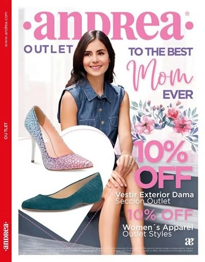 andrea usa outlet abril 2018