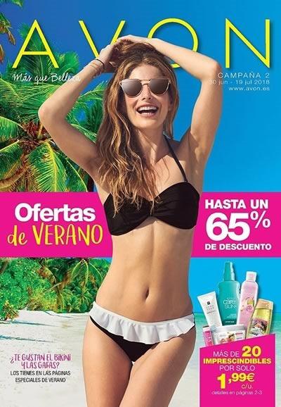 avon espana campana 2 de 2018 julio ofertas de verano