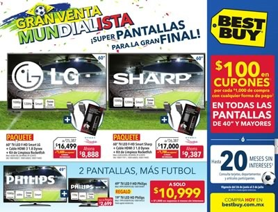 best buy catalogo ofertas junio julio 2014 mexico