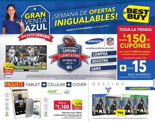 best buy gran venta azul septiembre 2014