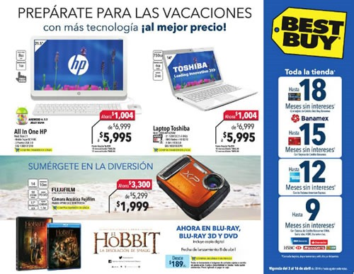 best buy mexico catalogo abril 2014
