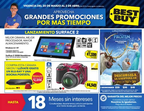 best buy mexico catalogo marzo 2014