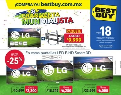 best buy ofertas 3 a 9 julio 2014