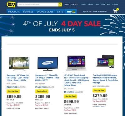 best buy ofertas 4 de julio 2014