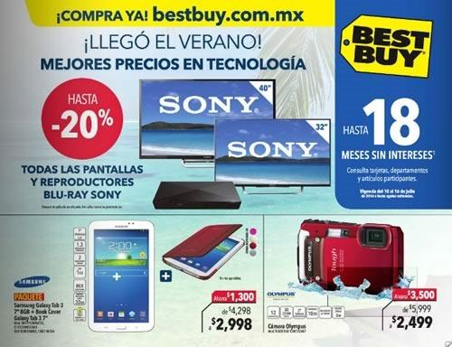 best buy ofertas verano 10 al 16 julio 2014