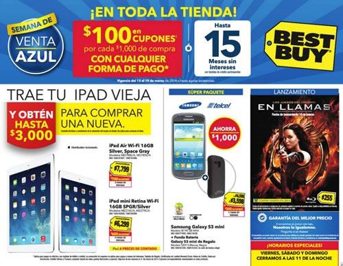 best buy semana de venta azul 19 marzo 2014 mexico