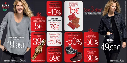 black friday en el corte ingles 2013 2