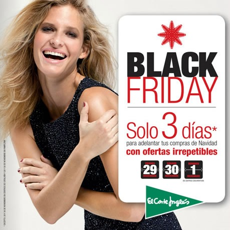 black friday en el corte ingles 2013