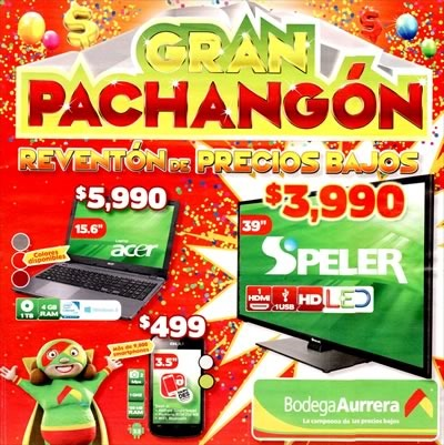bodega aurrera ofertas gran pachangon hasta 4 de julio 2015