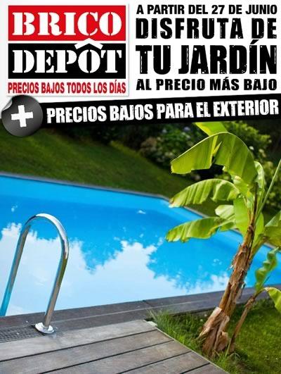 brico depot ofertas jardin hasta 27 julio 2014
